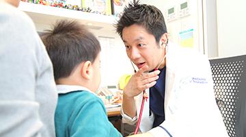 乳幼児健診を受ける方